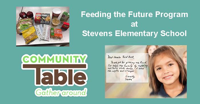 Feeding the Future Program at Stevens Elementary